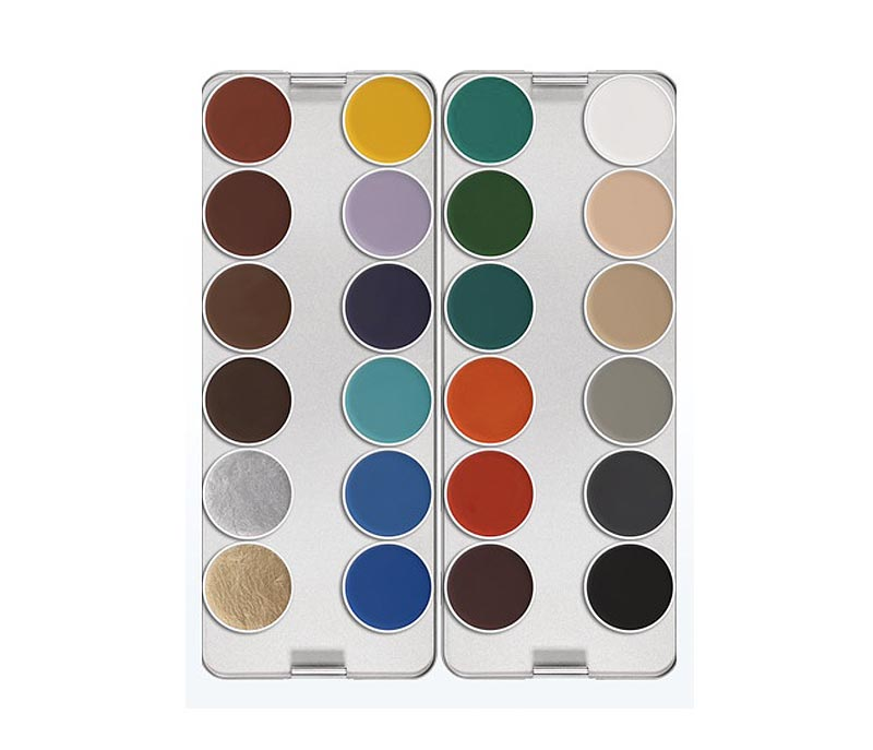 Aquacolor Makeup Palette