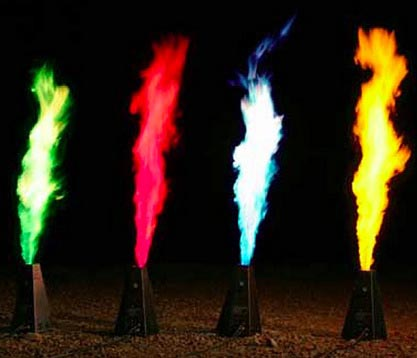 Coloured Torch Oil