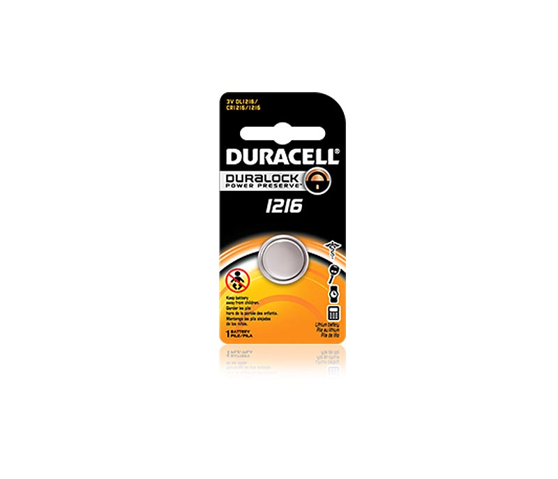 DL1216 Duracell Lithium Battery