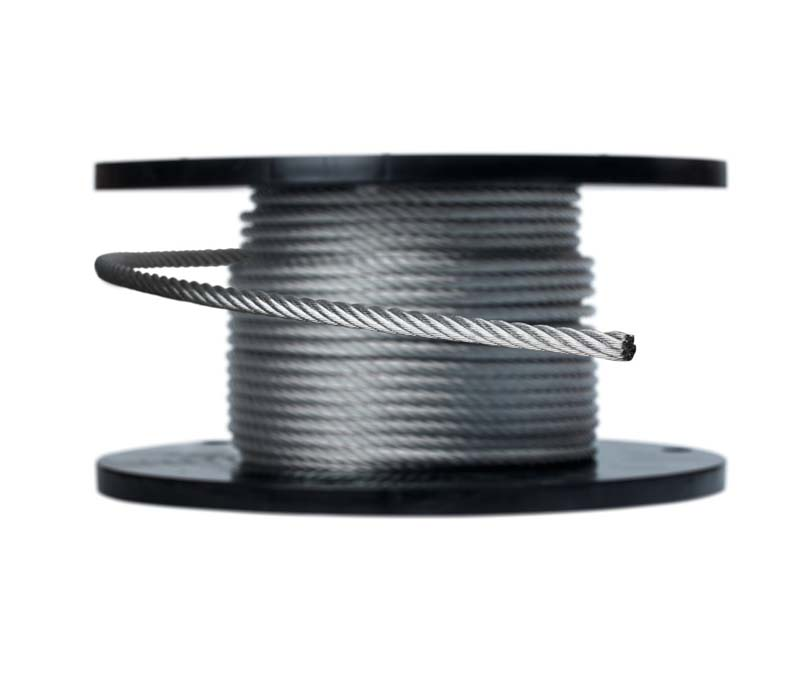 Galvanized Aircraft Cable (per foot)