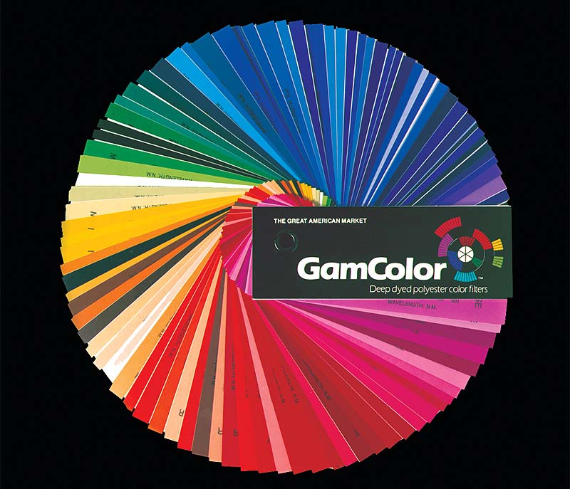 Gam Color Sheet
