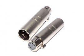 Pair XLR Plug Adapters