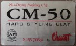 CM 50 Industrial Hard Styling Chavant Clay