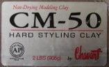 CM 50 Industrial Hard Styling Chavant Clay