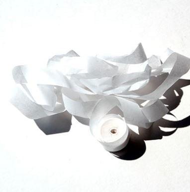 white streamer