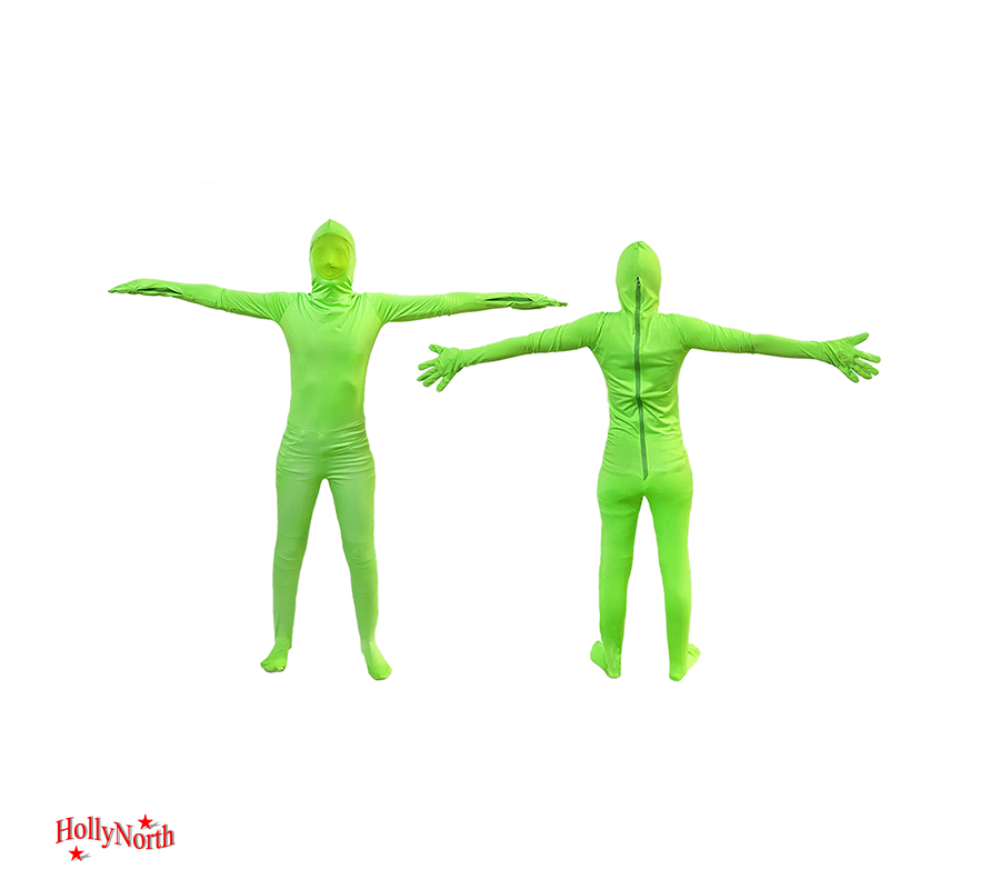 Green screen suit Hollynorth rentals
