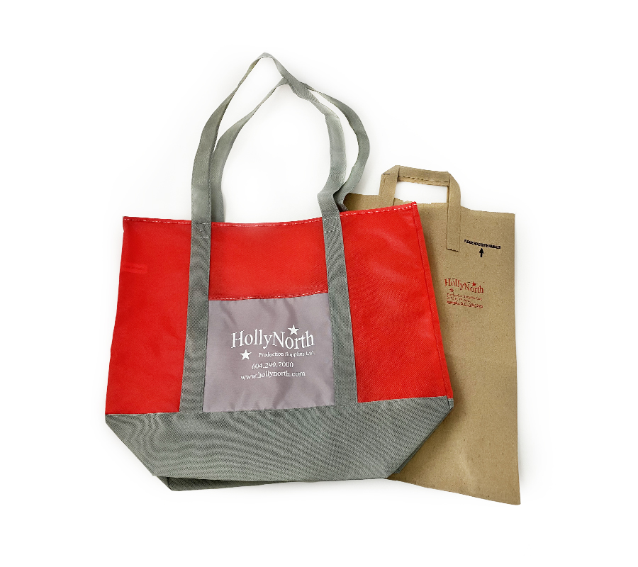 HollyNorth Recycled and Reusable Bags BBOT Pledge for a Sustainable Community