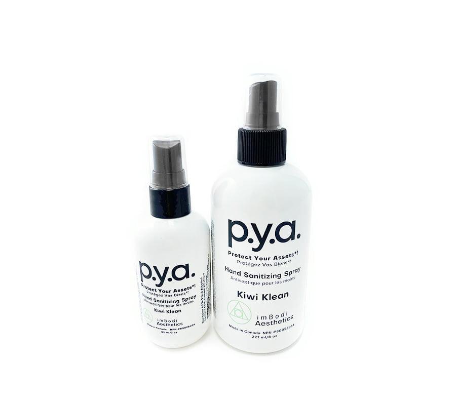 Pya Hand Sanitizing Spray with Aloe Vera